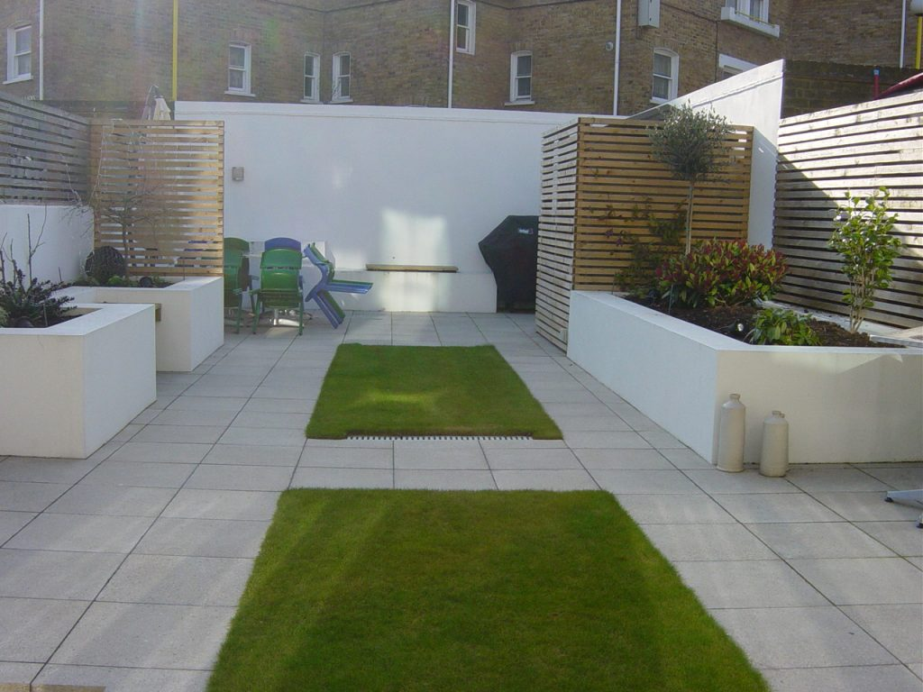 property development garden redesign patio